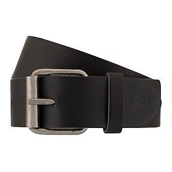 TOM TAILOR belt leather belts men's belts jeans belt black 7632