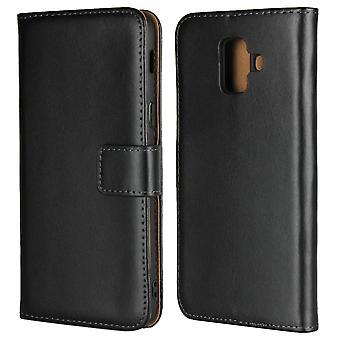 Samsung Galaxy A6 (2018) wallet Pouch-Black