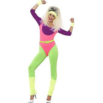80's uitwerken van kostuum, met Jumpsuit, UK 8-10