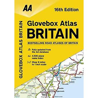 AA Glovebox Atlas Britain by AA Publishing - 9780749578794 Book