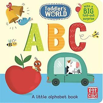 ABC - A Little Alphabet Board Book with a Fold-Out Surprise by Pat-a-C
