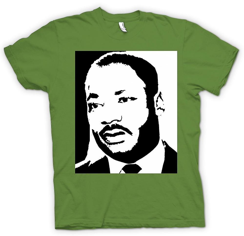 Mens t-shirt - Martin Luther King - BW icona