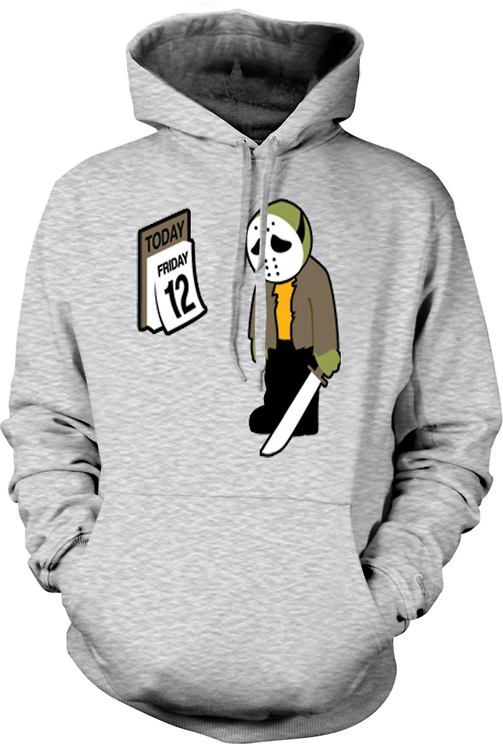 Mens Hoodie - Friday The 12th Jason Voorhees