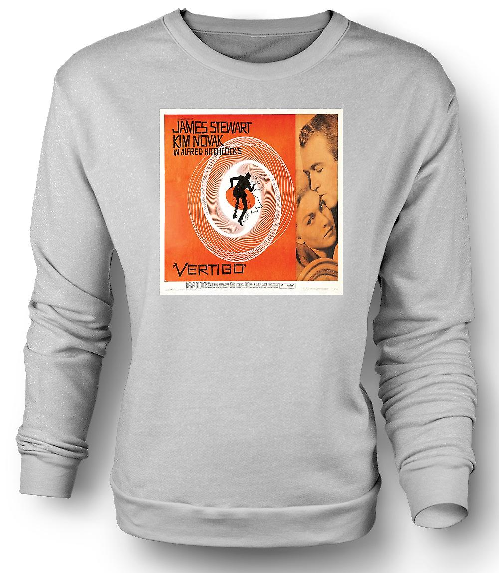 Mens Sweatshirt Vertigo Hitchcock - B-Movie - Poster