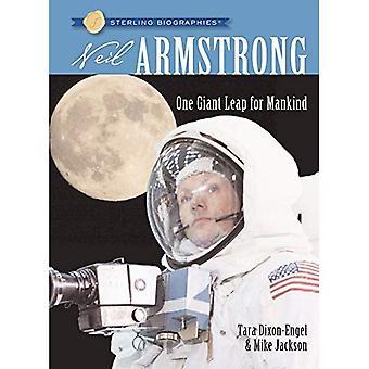 Neil Armstrong: Ett jättesprång för mänskligheten (Sterling biografier)