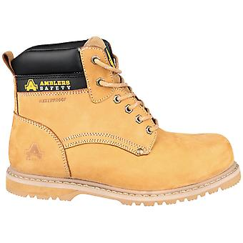Amblers Mens 147 Welted Lightweight Leather S3 Safety Boots