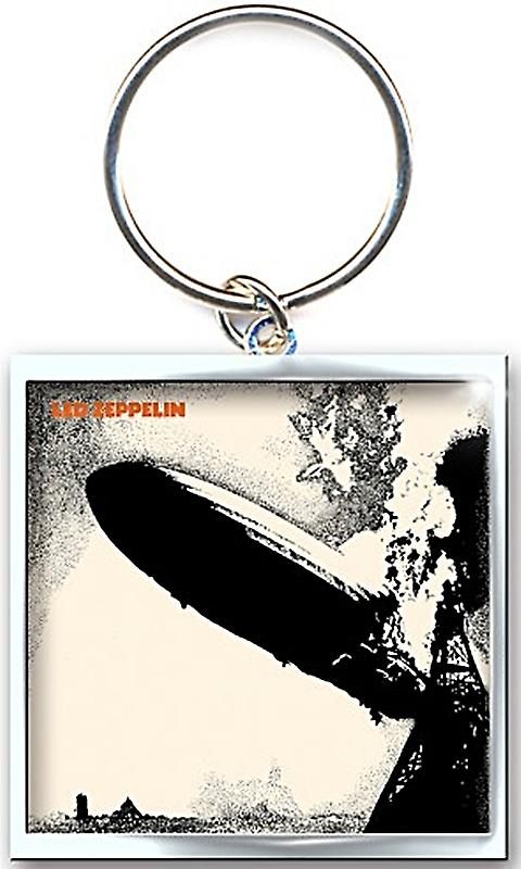 Led Zeppelin First LP metal keyring (ro)