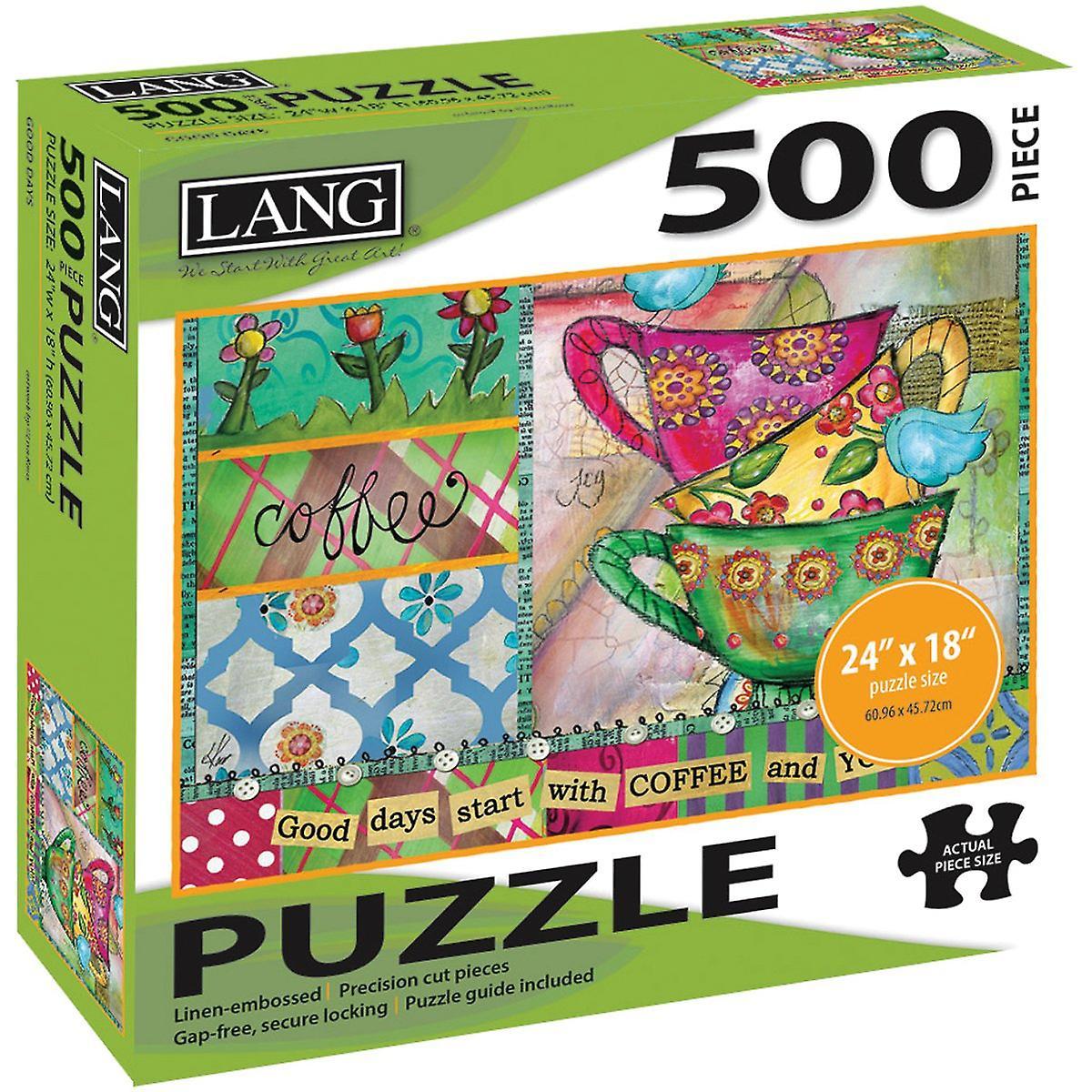 Jigsaw Puzzle 500 Pieces 24 & 034;X 18 -bon temps