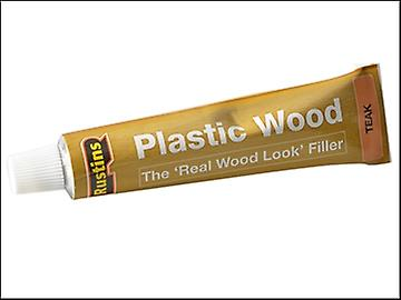 Rustins Plastic Wood Tube Teak 125ml