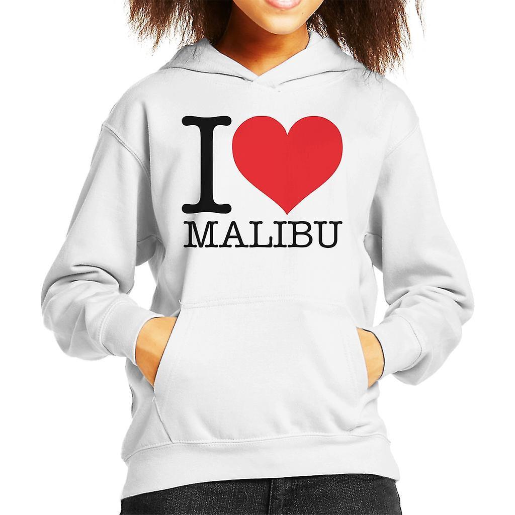 Ik hou van Malibu Kid's Hooded Sweatshirt