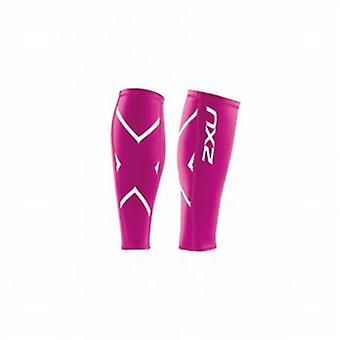 Veau de compression gardes unisexe Hot Pink