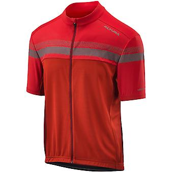 Altura Red-Red 2019 Nightvision Short Sleeved Cycling Jersey