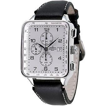 Zeno-watch mens watch SQ retro chronograph date 150TVD-e2