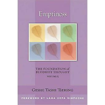 Emptiness - v. 5 by Geshe Tashi Tsering - 9780861715114 Book
