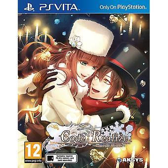 Code réaliser Wintertide miracles PS Vita jeu