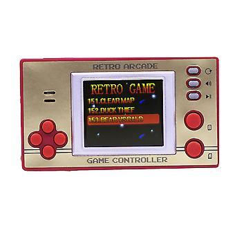 Locatie retro arcade games 8-bit handheld console 153 x 8-bit games met LCD-scherm.