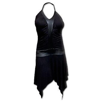 Spiral Direct gothique GOTHIC ROCK - Cyber Goth robe Black| Gothic| Metal