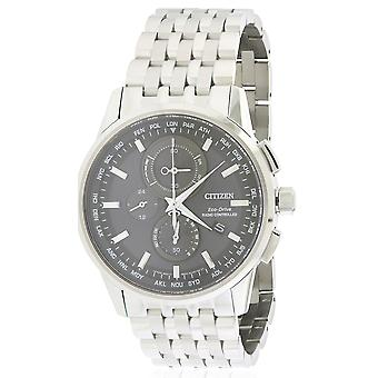 Citizen Eco-Drive World Chronograph A-T Mens Watch AT8110-53E