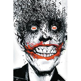 Joker cómic Batman golpea Maxi Poster 61x91.5cm