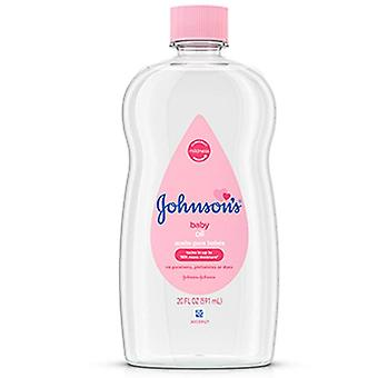 Johnson's baby oil, original, 14 oz