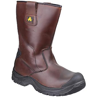 Amblers Safety Unisex AS249 Cadair Waterproof Pull on Rigger Boot