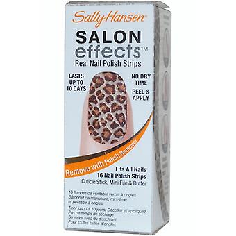 Sally Hansen Salon effekter Real Nail Polish Strips Kitty Kitty {#320)