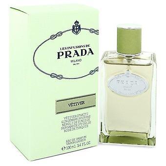 Prada Infusion De Vetiver Eau De Parfum Spray Von Prada 100 ml