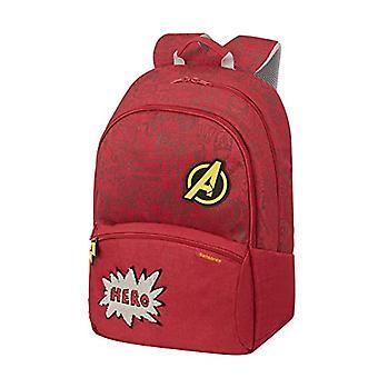 Samsonite Color Funtime Disney Backpack L - 42 cm - 24 L - Red (Avengers Doodles)