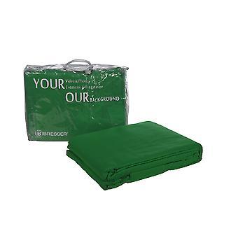 BRESSER Y-9 Tissu de fond 2.5x3m Chromakey Green