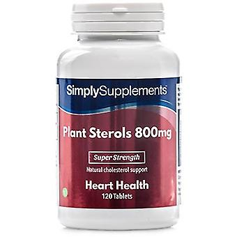 Plant-sterols-800mg - 120 Tablets