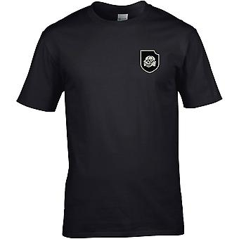 Waffen SS German WW2 - Embroidered Military Insignia - Cotton Premium T-Shirt