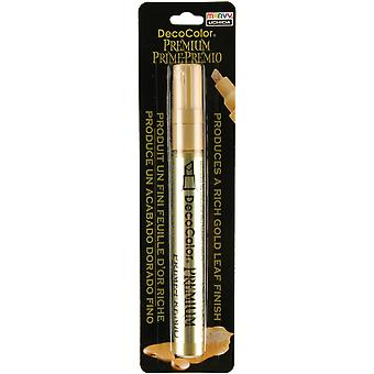 Decocolor Premium Oil Based Paint Marker Carded Gold 350 C Gld