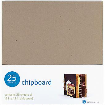 Silhouette Chipboard 12
