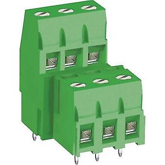 Screw terminal 3.30 mm² Number of pins 4 MB360-500M04 DECA Green 1 pc(s)