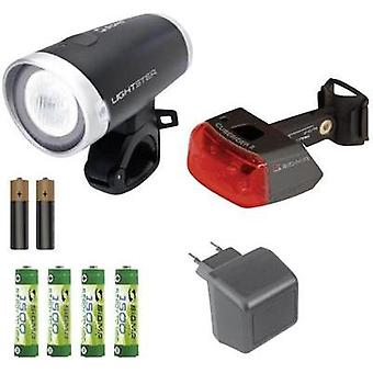 Bike light set Sigma Lightster, Cuberider ll LED rechargeable, b