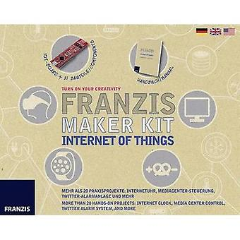 Maker kit Franzis Verlag Maker Kit Internett ting 978-3-645-65316-9 14 år og over