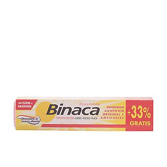 BINACA AMARILLO triple acción pasta dentífrica