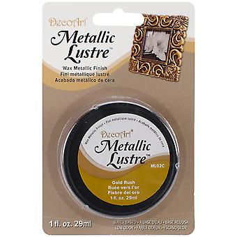 Metalen Lustre Wax ML-81-02 1oz-Gold Rush afwerking