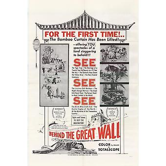 Achter de grote muur Movie Poster Print (27 x 40)