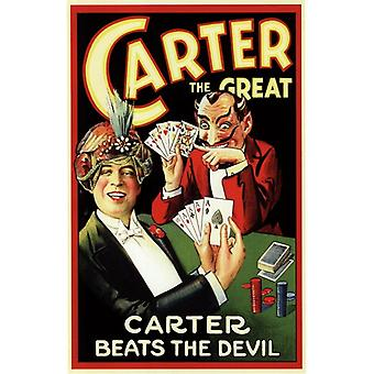 Carter Beats the Devil Movie Poster (11 x 17)
