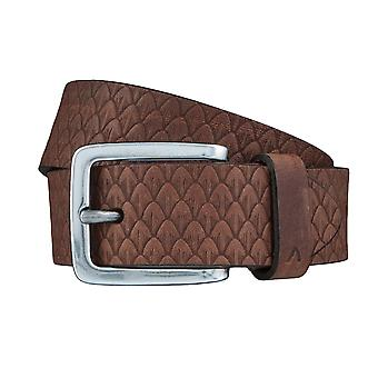 ALBERTO new pine belts men's belts leather belt Brown 3883