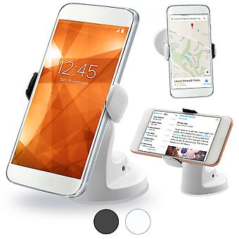 Celicious Griff Universal Compact Smartphone Suction Car Mount Holder  - White