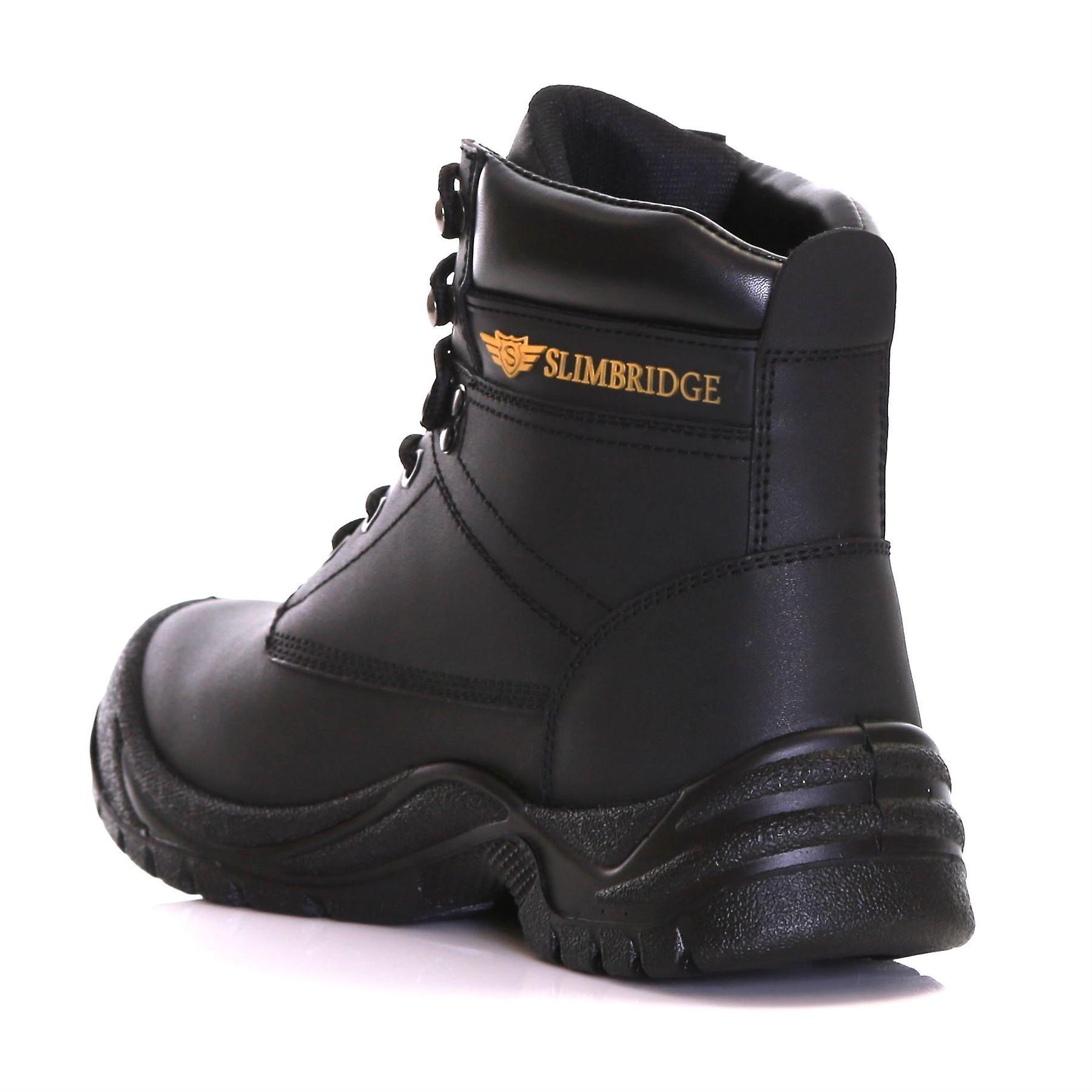 Slimbridge Velbert Size 12 Safety Boots, Black