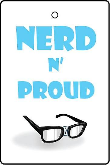 Nerd N Proud Car Air Freshener