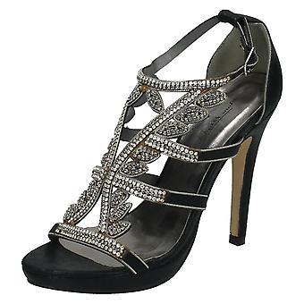 Las señoras Diamante de Anne Michelle tacones fiesta adorno F10289