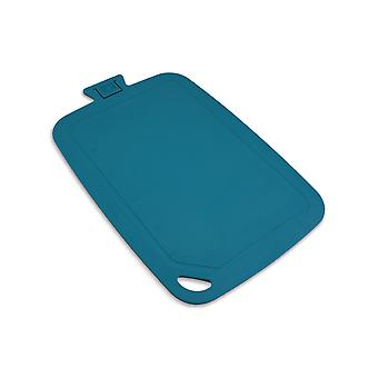 Wellos Eco Friendly Antibacterial Chopping Board, 38cm x 25cm, Blue
