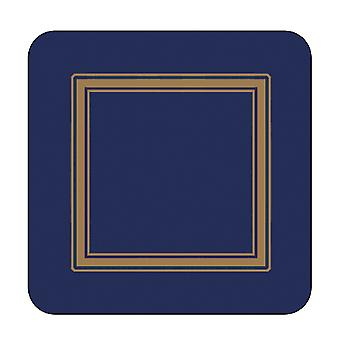 Pimpernel Classic Midnight Blue Coasters Set of 6