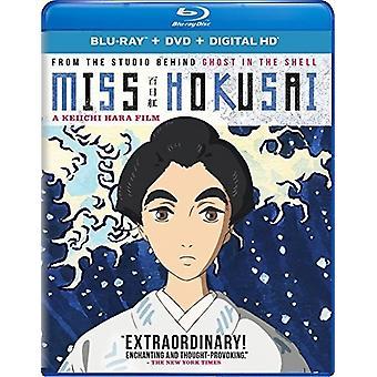Miss Hokusai [Blu-ray] USA importerer