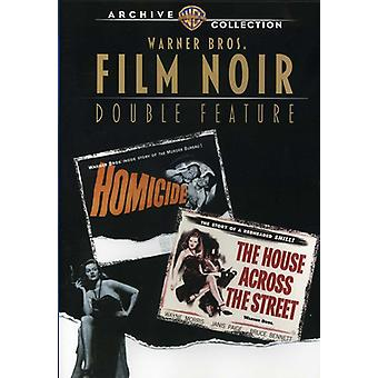 House Across the Street/Homicide (1949) [DVD] USA import