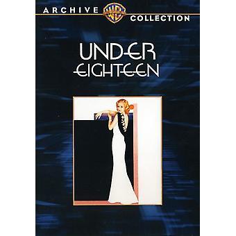 Unter achtzehn [DVD] USA import